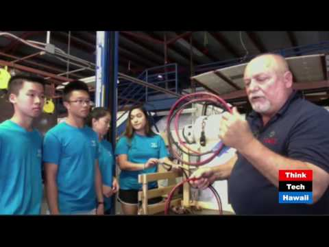Hawaii Students Add Hydrogen Fuel Cell To Vehicle