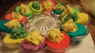 Cooking With Dave: Easter Themed Deviled Eggs