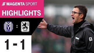 SV Meppen - 1860 München | Spieltag 24, 19/20 | MAGENTA SPORT