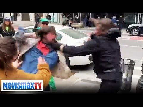 Fights break out at St. Patty's Trump parade in NYC | REPORT