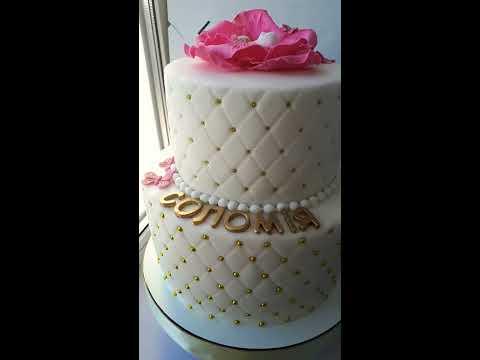 Торт на 1 рік  дівчинці.
