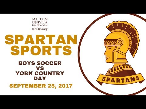 Spartan Soccer vs. York Country Day School: The Spartan Boys' Soccer team takes on the York Count...