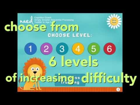 NACD Cognition Coach Toddler to Age 3 - Simply Smarter Sequential