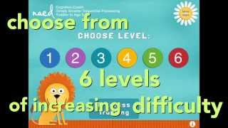 NACD Cognition Coach Toddler to Age 3 - Simply Smarter Sequential Processing App for iPad