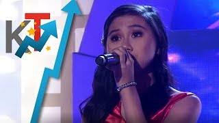 TNT Celebrity Champions Cha Cha Cañete sings 'Girl On Fire'