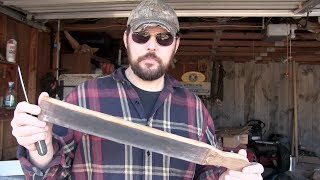 How to make a leather Strop ........... for sharpening knives.