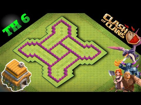 Base Coc Th 6 Unik Dan Kuat 9