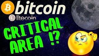 👀BITCOIN and LITECOIN CRITICAL AREA!👀bitcoin litecoin price prediction, analysis, news, trading