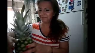 Ananas Nasıl Soyulur ?