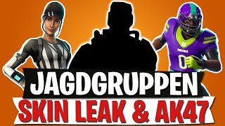 JAGDGRUPPEN SKIN LEAK | NFL EMOTES & NEUE AK 47 | Fortnite Battle Royale