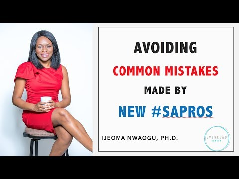 Avoiding Common Mistakes made by New Student Affairs Professionals