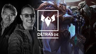 Detrás de: Garen Vs. Darius, el León contra el Lobo | Campeones | League of Legends