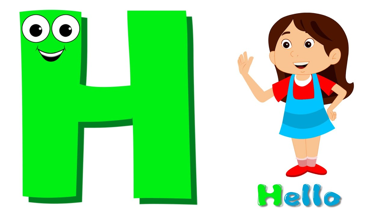 Phonics Letter- H song - YouTube