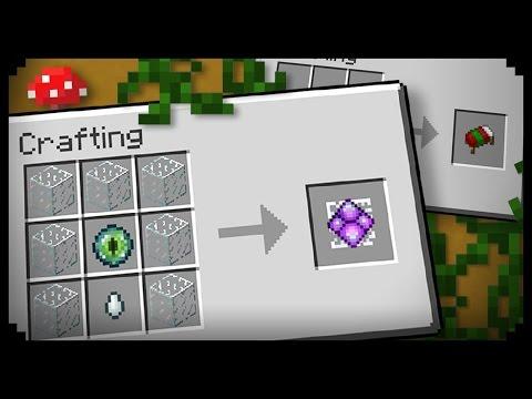 Как сделать кристалл края в майнкрафт