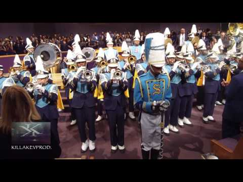 Southern University Select Band performing @ Mt. Zion (Nashville) - 2017