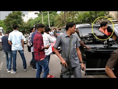 Nara Lokesh's Range Rover Autobiography at Star Bucks(Hyderabad)