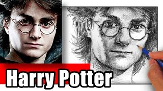 Drawing harry potter with a 6b pencil on regular print paper. ►subscribe http://www./subscription_center?add_user=weiworks when portrait...