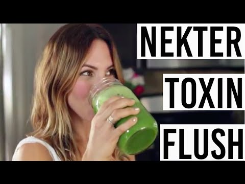 Nekter Juice Bar's Toxin Flush Recipe - Best Green Juice Recipe