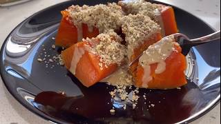 Настоящий турецкий десерт из тыквы Как подают тыкву в отелях Турции