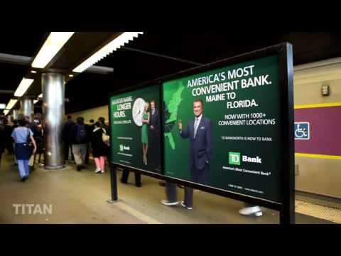 Titan - TD Bank Boston Ad Campaign