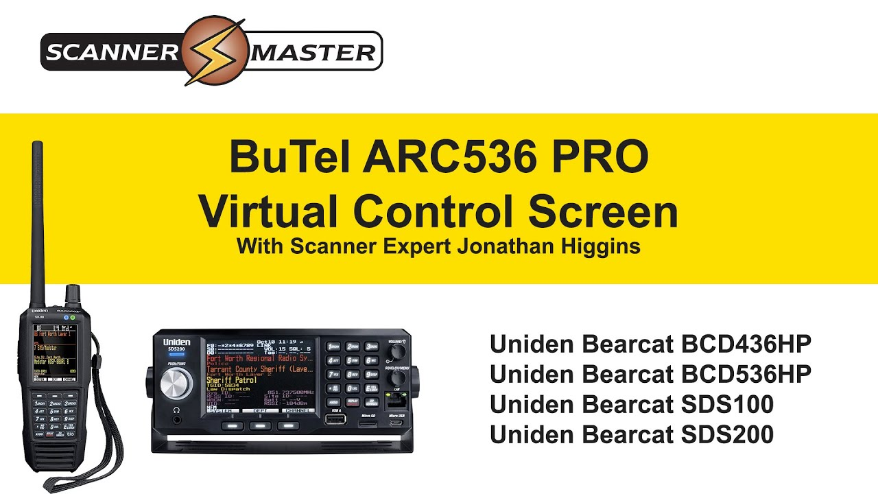 Butel Arc536 Pro Virtual Control Screen Youtube