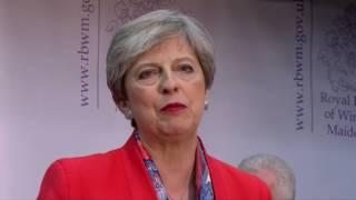 Wahlen in Großbritannien: Deftige Ohrfeige für Theresa May und die Tories