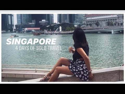 4 DAYS OF SOLO TRAVEL IN SINGAPORE | travel vlog