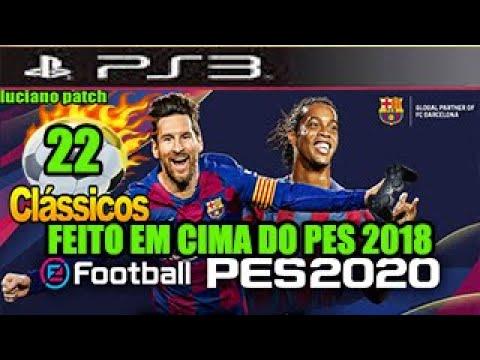 Ps3 Games 2020.Patch Efootball Pes 2020 Ps3 Word Classicos Pes 2018 Apenas 6 Reais