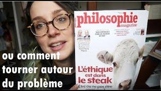Cher Philosophie Magazine - parlons veganisme