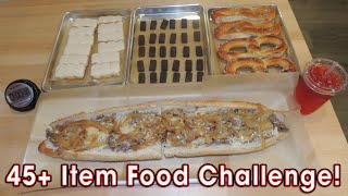 Jake's Cheesesteak Challenge w/ Tastykakes, Peanut Chews, & Pretzels!!