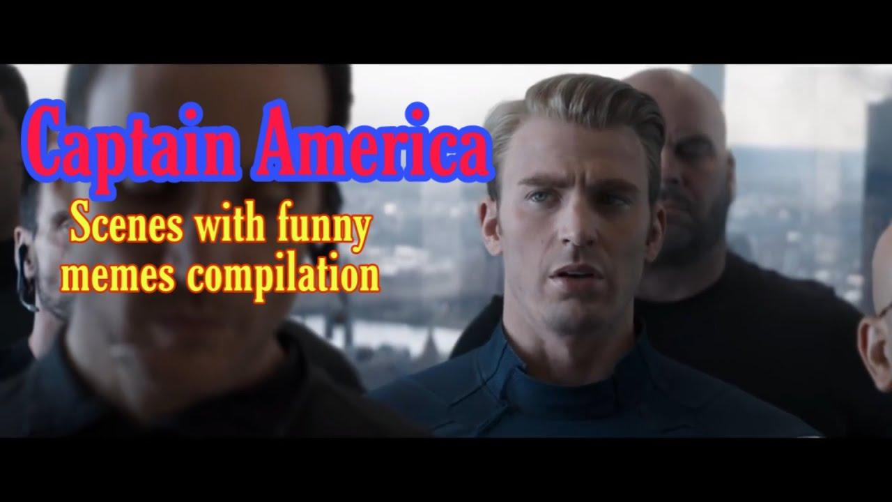 CAPTAIN AMERICA'S MEME COMPILATION - YouTube