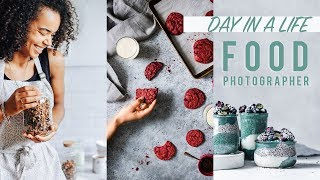 Day in a Life of a Food Photographer | REALISTIC & FREELANCE