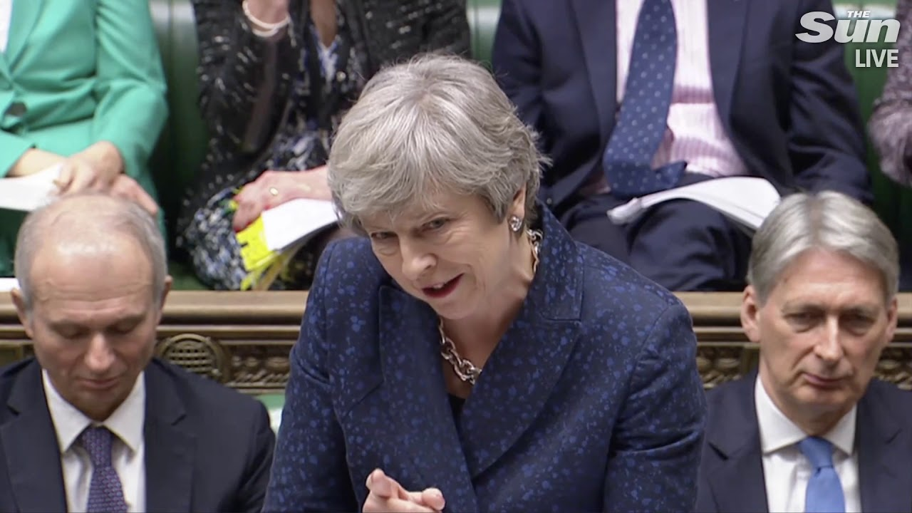 PMQs: Corbyn accuses May of running down the clock