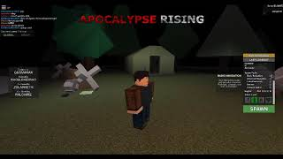 Roblox- Shoot em' up! Apocalypse Rising