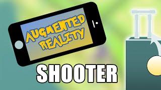AR Shooter • 0/4 • Augmented Reality (Vuforia) [Tutorial][C#]