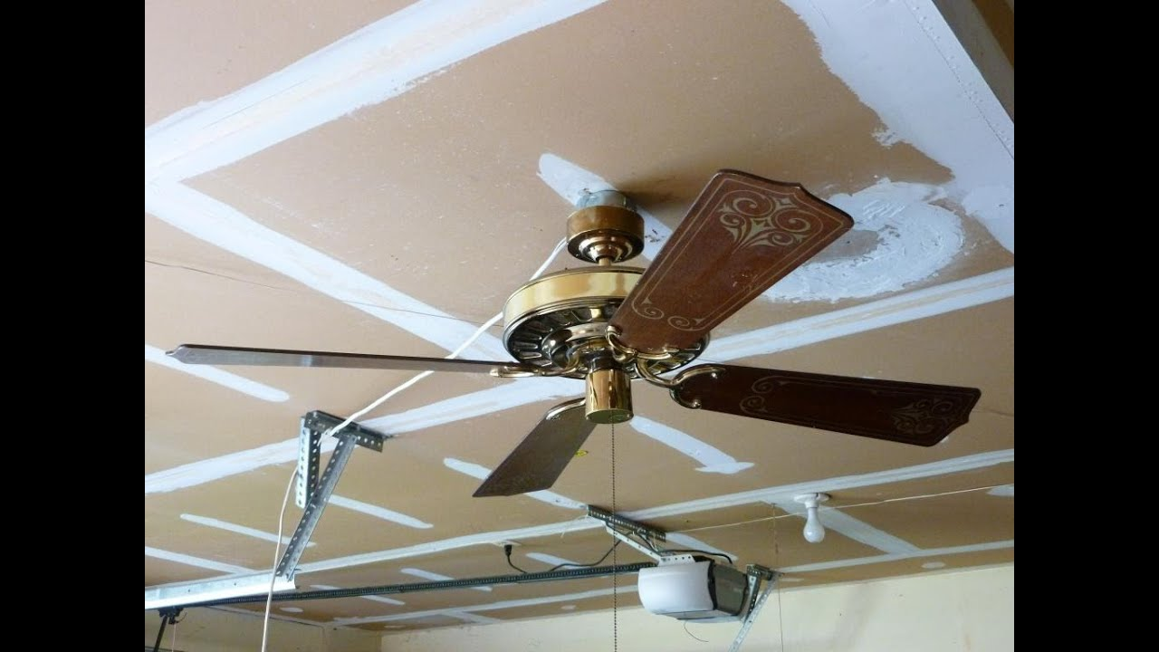 Sears (Lasko) Turn of the Century Ceiling Fan - YouTube