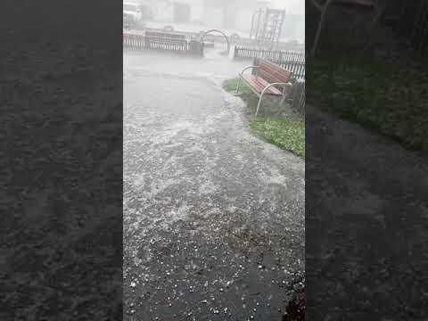 Град в Белогорске 22 июня 2018