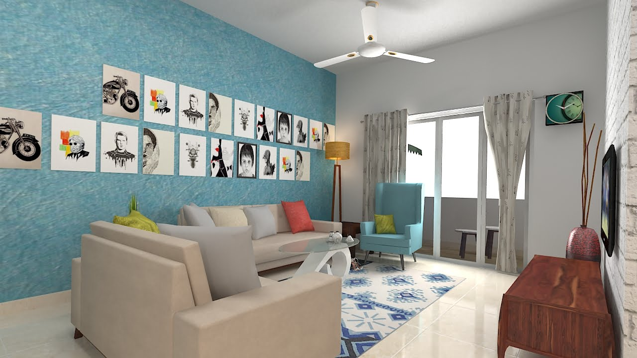 Furdo Home Interior Design Themes Urbana 3D Walk through