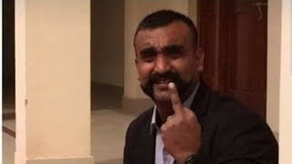 Captured iaf pilot Abhinandan video message  before leaving from pakistan