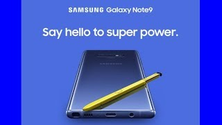 Samsung Galaxy Note 9: New Secret Details Revealed right before Release Date