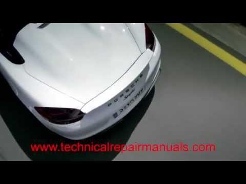 2005 2006 2007 2008 Porsche Boxster 987  -Technical Service Manual