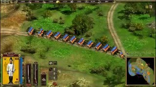 Cossacks 2 Battle for Europe: online battle Aspen-Essling. L.L. (Austria) vs Xy (France)(#13)