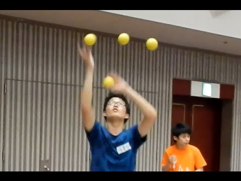 World Juggling Day Festival 2016 in Japan