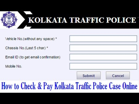 How to Check & Pay Kolkata Traffic Police Pending Cases Online | How to Solve KTP Pending Case from YouTube · Duration:  2 minutes 44 seconds