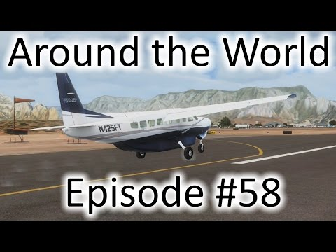 FSX | Around the World Ep. #58 - Palm Springs to Sedona