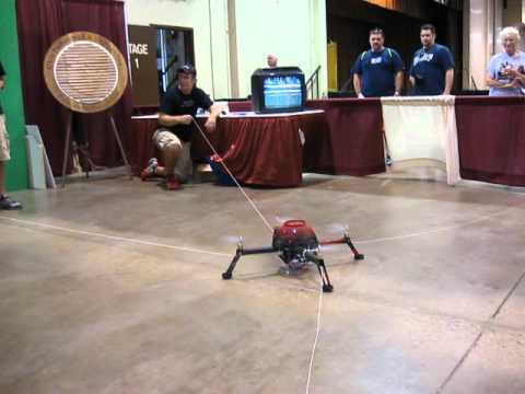 Cincinnati High School Students' Quad Copter At State Fair