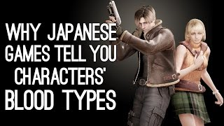 Why Do Japanese Games Tell You Characters