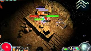 Path of Exile - Vaults of Atziri Map #50 +3 sacrifice pieces in map device