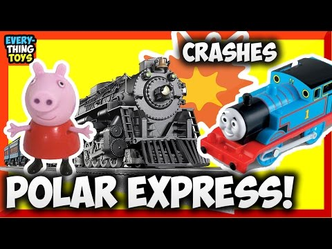 Toy Train Track Plans -Superb Concepts For Getting The Greatest From Your Polar Express Lionel G Gauge Scale Battery Train Crashes Thomas Trackmaster & Peppa Pig