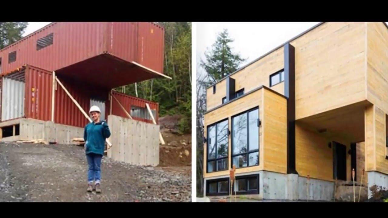 Super casa con contenedores maritimos 1 youtube for Arquitectura contenedores maritimos